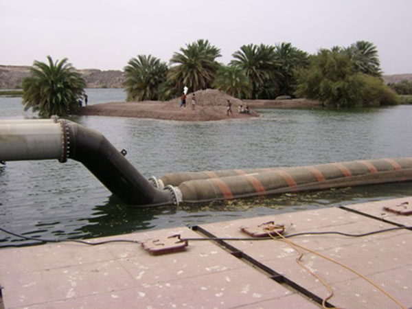floating pipe for dredging